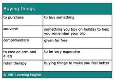 Good morning! we buy something daily.Here's some useful vocabulary for you.  Share it with your friends! #internationalschools in Egypt #Britisheducation system in Egypt