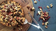 Grain and Gluten Free Christmas Cake - with no added sugars. Love it or hate it, it's a regular on the table come Christmas day. Here's a #healthy alternative that's easier on the waistline won't leave you reaching for your stretchy pants.