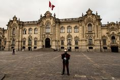 Presidential Palace in Downtown Lima, Peru