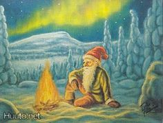 Terho Peltoniemi Scandi Christmas, Gnomes, Elves, Finland, Fairy, Visual Arts, Brownies, Painting, Ideas