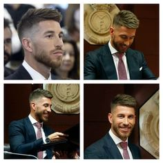 New Hair Cut Sergio Ramos 2015