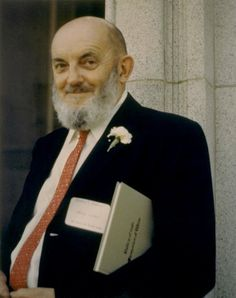 """Photographer Ansel Adams at the Annual Meeting of the Friends of the Bancroft Library, University of California - Berkeley Campus (1967) The book under his arm is entitled: """"Valley of Salt, Memories of Wine"""" by Louis Nusbaumer, Edited by George Koenig. via OAC, CDLIB"""