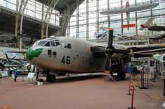 Fairchild C-119G Flying Boxcar in Brussels Air Museum