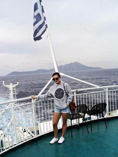 UNIZG hoodie na putovanju u Grčkoj