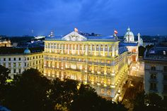 Experience a world class Vienna hotel when you book with Starwood at Hotel Imperial, a Luxury Collection Hotel, Vienna. Receive our best rates guaranteed plus complimentary Wi-Fi for SPG members.