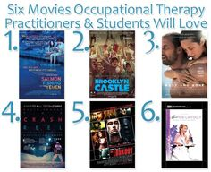 Six movies that we think occupational therapy practitioners and students will love. Via AOTA's Checking the Pulse blog.