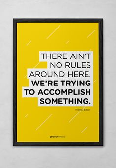 Startupvitamins posters by Giuliano Rusciano, via Behance