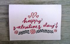 Happy Valentine's Day Valentine's Day Cards by ChampaignPaper