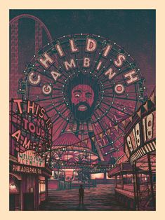 Arte Hip Hop, Hip Hop Art, Band Posters, Cool Posters, Movie Posters, Photo Wall Collage, Picture Wall, Childish Gambino Poster, Poster Wall