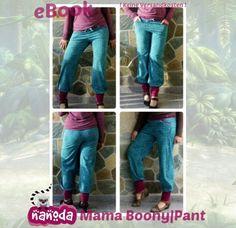 Nähanleitungen Mode - eBook: Mama Boony|Pant - ein Designerstück von Nanoda bei DaWanda