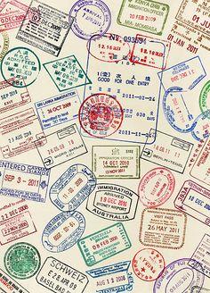 Passport Stamp Photos and Premium High Res Pictures
