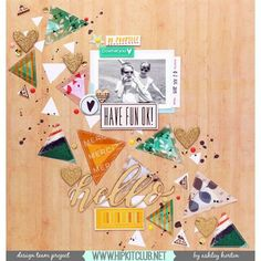 Happy Wednesday  Team member @ashleyhorton75 is up on the blog with this awesome LO using our #august2015 kits featuring @pinkfreshstudio @shopfreckledfawn @americancrafts #dearlizzy #scrapbooking #scrapbookkits #hipkitclub #hipkits