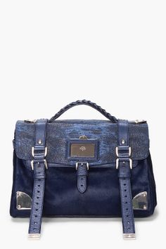 MULBERRY //  NIGHTSHADE TRAVEL BAG. Oh this is fantastic !!!