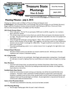 Click the link to view our full July 2015 Newsletter: http://treasurestatemustangclubgf.weebly.com/…/july_2015_ne…http://treasurestatemustangclubgf.weebly.com/uploads/2/6/9/1/26917180/july_2015_newsletter.pdf