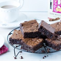 The ultimate chocolate brownie recipe is fool-proof, giving you the best ever brownies every time - all in less than an hour.