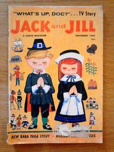 Jack & Jill Vintage Children's Magazine November, 1960