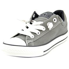 separation shoes ff6aa 0378e The Converse Chuck Taylor Street Ox Athletic feature a Canvas upper with a  Round Toe . The Rubber outsole lends lasting traction and wear.