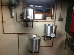 Homebrewing stand feed Homebrew set up standGravity feed Homebrew set up stand Beer brewing system Easy 100 Beer Home Brewery, Home Brewing Beer, Brewing Recipes, Beer Recipes, Homebrew Recipes, Brew Stand, Beer Maker, Brew Your Own Beer, Home Brewing Equipment