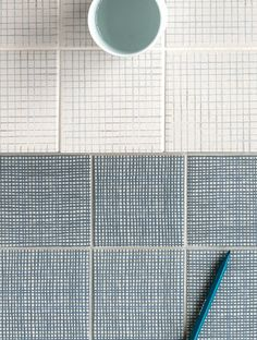 Tratti tiles by Inga Sempe for Mutina