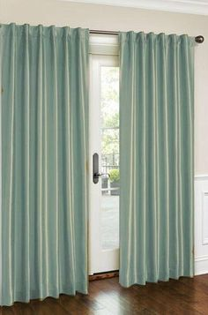 HLC.ME Cara Faux Silk Aqua Window Treatment Curtain Panel by HLC.ME, http://www.amazon.com/dp/B00AR73IPU/ref=cm_sw_r_pi_dp_0-0Orb112377R