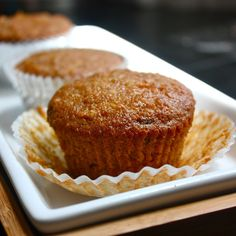 Carrot Muffins; by Cannella Vita