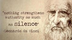 Words of wisdom.   But I think it should read 'nothing strengthens unrighteous authority so much as silence'