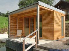 Garden Sauna – Exterior - All About Outdoor Sauna, Outdoor Sheds, Outdoor Decor, Sauna Lights, Pool Shed, Pavillion, Garden Pavilion, Small Modern Home, Spa Rooms