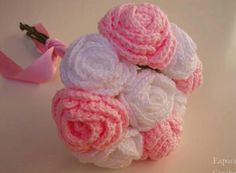 Some beautiful crochet wedding inspirations