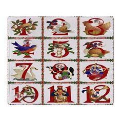 12 Days Of #Christmas Throw #Blanket