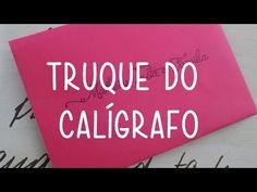 Truque do Calígrafo + Fontes Grátis para Casamento