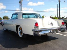 1956 Lincoln Continental Coupe MK II 1957 Ford Thunderbird Convertible Plus Over 970 Different Classic Cars  http://pinterest.com/njestates/cars/  Thanks to http://www.njestates.net/
