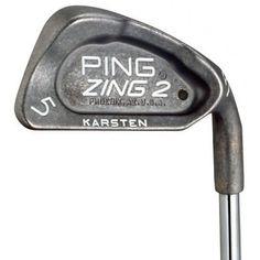 PING ZING 2 4-9 IRON SET STIFF STEEL STANDARD BLUE DOT