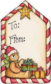 etiqueta presentes natal