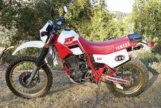 1986 Yamaha XT600.