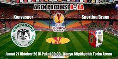Prediksi Bola Konyaspor vs Sporting Braga 21 Oktober 2016