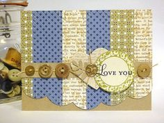 Tag-Its card by Heather Nichols for Papertrey Ink (January 2012).
