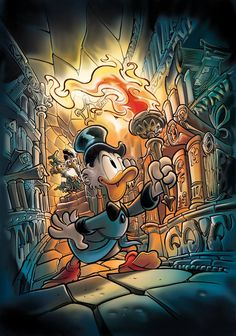 Walt Disney, Disney Duck, Disney Magic, Disney Pixar, Old Cartoons, Disney Cartoons, Disney Movies, Cartoon Tv Shows, Cartoon Art