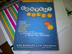 Content Rules! Creating A Blog, Ebooks, Content, Club, Reading, Business, Videos, Reading Books, Business Illustration