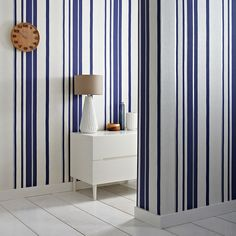 Which striped wallpaper suits your room? | Graham & Brown