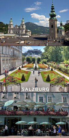 """""""Not only is Salzburg the birthplace of the famous composer Wolfgang Amadeus Mozart, it was also the setting for the popular movie """"The Sound of Music"""". To top it off, the city is a mecca for hiking enthusiasts and is considered a jewel of the Alps."""""""