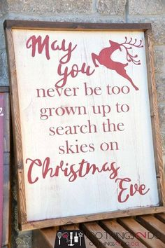 DIY Rustic Christmas Sign (and a Fall one too) - Rustic Christmas sign farmhouse Christmas may you never be too grown up christmas wood sign wood signs distressed wood sign Christmas sign Christmas Signs Wood, Noel Christmas, Merry Little Christmas, Winter Christmas, Christmas Ideas, Christmas Vacation, Christmas Sayings And Quotes, Christmas Quotes And Sayings, Holiday Quotes Christmas