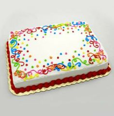 51 Ideas for cake designs easy rectangle - Cake! Birthday Cake Decorating, Cake Decorating Tips, Cake Icing, Cupcake Cakes, Buttercream Icing, Pastel Rectangular, Bolo Neon, Sheet Cakes Decorated, Sheet Cake Designs