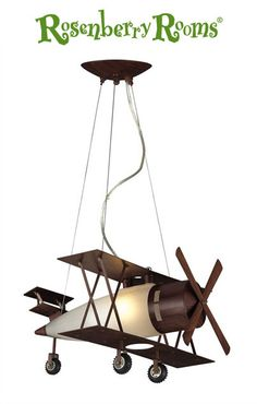 Airplane ceiling fan is a wonderful addition to your home interiors including kids' room. Improving home atmosphere can be simple with ceiling fan airplane Airplane Ceiling Fan, Airplane Lights, Airplane Bedroom, Airplane Decor, Vintage Airplane Nursery, Kids Lighting, Elk Lighting, Bedroom Lighting, Aviation Decor