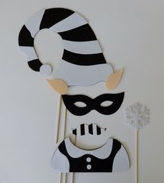 Chirstmast Photo Booth Props  Good and Bad Elf by LUCIOUSMAXIMUS, $27.00