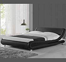 Muebles Bonitos Modernes Doppelbett Alessia In Kunstleder