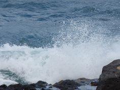 Canary Islands Photography: #Mirandoalmar #Fuerteventura #olas #PuertodelRosar...
