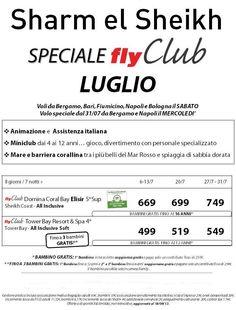 speciale sharm a luglio da € 499