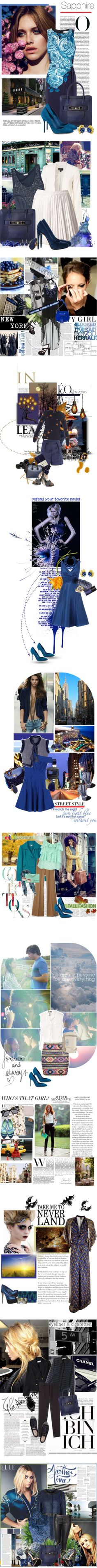 """""""September Birthstone: Sapphire"""" by polyvore-editorial ❤ liked on Polyvore"""