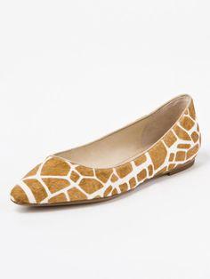 giraffe print shoes