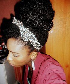 Natural hair - diva style